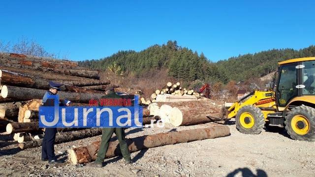perchezitii lemn2 - FOTO: Percheziții la tăietorii de lemne din Vrancea