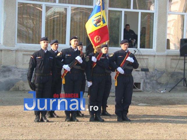 DRAPEL 2 - FOTO: Jandarmeria Vrancea are un nou Drapel de Luptă