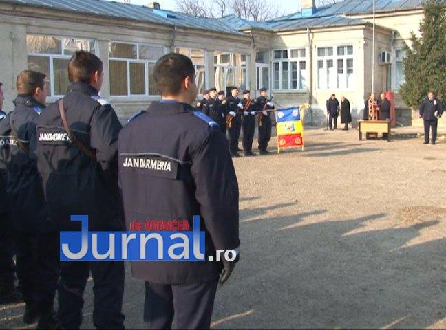 DRAPEL 3 - FOTO: Jandarmeria Vrancea are un nou Drapel de Luptă