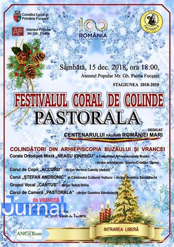 afis pastorala 2018 - Concert de colinde susținut de corul Pastorala