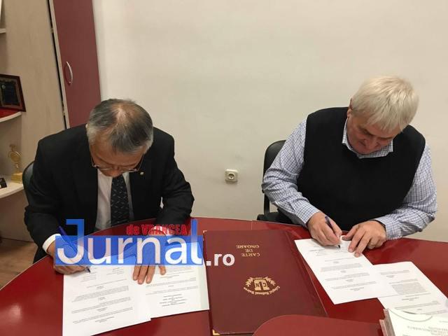 parteneriat cnu japonia3 - FOTO: Premieră la CNU: Elevii Colegiului pot urma cursurile unei universități din Japonia