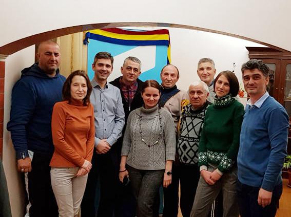 usr vrancea2 - FOTO: De 1 Decembrie, USR Vrancea a deschis două noi filiale rurale, la Păunești și Vulturu