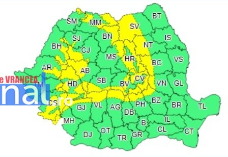 cod galben ninsori 1 - Vreme rea până miercuri seara. Zonele montane sunt sub cod galben
