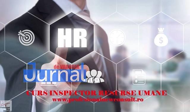curs inspector resurse uman3 - ÎNSCRIERI deschise pentru cursul de INSPECTOR RESURSE UMANE