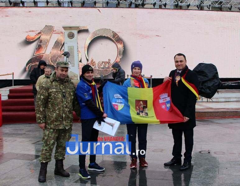 laurentiu cobzaru maraton 3 - Povestea militarului maratonist și a Anei, pentru care a alergat de la Galați la Focșani