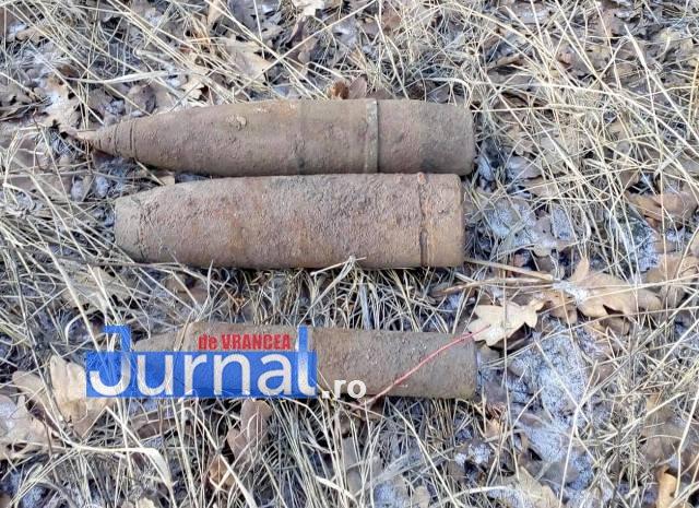 proiectile bombe2 - FOTO: Ce a găsit la Vânători un căutător de comori cu detectorul de metale