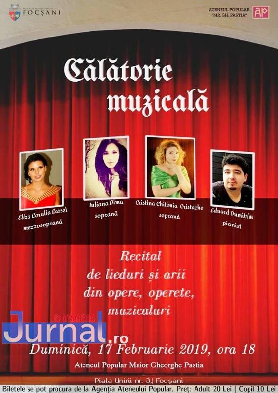 ateneu concert februarie 2 - Luna februarie vine la Ateneu cu lucrări celebre interpretate de artiști locali