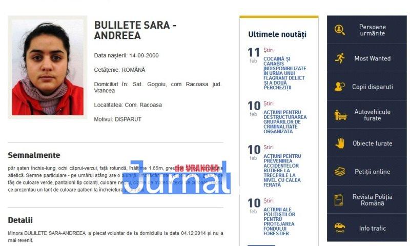 bulilete sara racoasa vrancea - FOTO: Zece vrânceni căutați de Poliția Română. Cinci dintre ei, condamnați definitiv