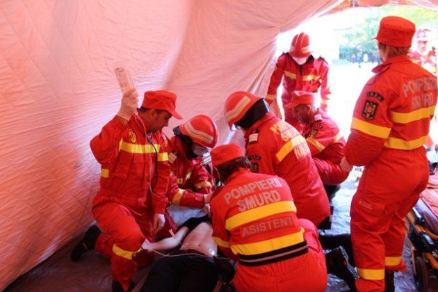 isu vn smurd4 630x420 - FOTO: SMURD, de 9 ani în Vrancea. Paramedicii au avut 30.000 de intervenții