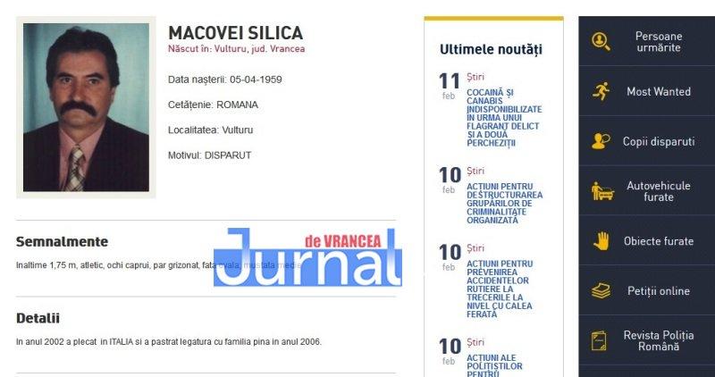 macovei silica vulturu vrancea - FOTO: Zece vrânceni căutați de Poliția Română. Cinci dintre ei, condamnați definitiv