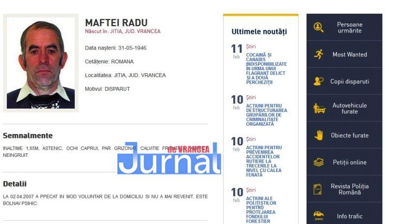 maftei radu jitia vrancea - FOTO: Zece vrânceni căutați de Poliția Română. Cinci dintre ei, condamnați definitiv