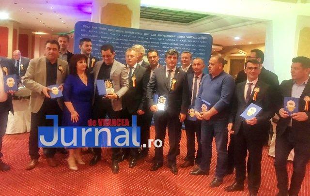Panciu AOR4 - FOTO: Primarul Iulian Nica, premiat pentru performanță și succes în administrația locală