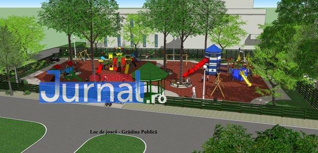 loc de joaca focsani gradina publica1 - FOTO: Cum vor arăta noile locuri de joacă din centrul Focșaniului și din cartierul Mîndrești