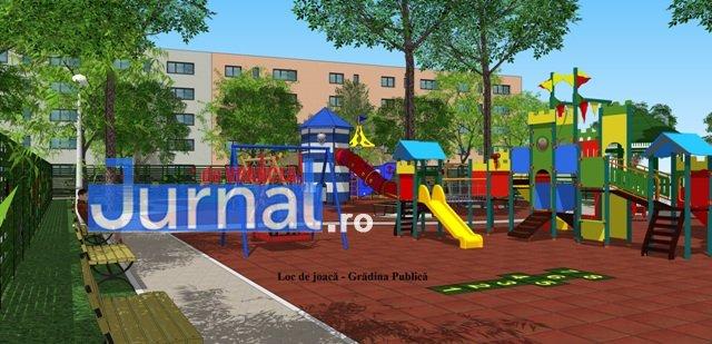 loc de joaca focsani gradina publica3 - FOTO: Cum vor arăta noile locuri de joacă din centrul Focșaniului și din cartierul Mîndrești