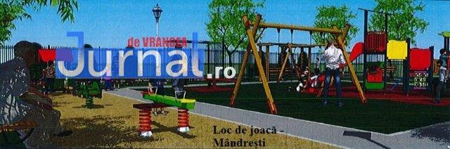 loc de joaca mandresti 3 - FOTO: Cum vor arăta noile locuri de joacă din centrul Focșaniului și din cartierul Mîndrești