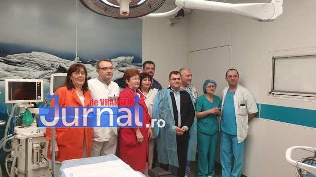 sala operatii spitalul focsani 1 - FOTO: Sală de operații ultramodernă la Spitalul Județean Focșani. Aparatură de top în tot blocul operator