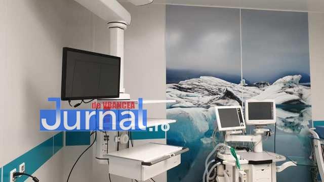 sala operatii spitalul focsani 2 - FOTO: Sală de operații ultramodernă la Spitalul Județean Focșani. Aparatură de top în tot blocul operator