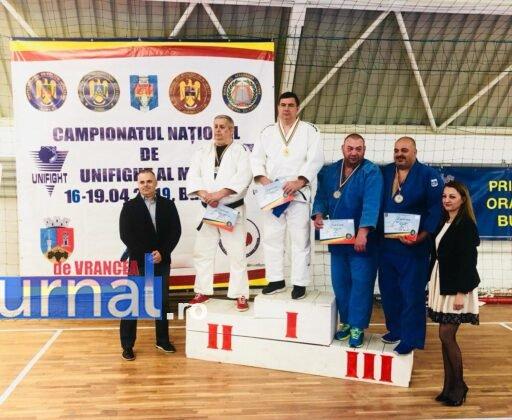 Alexandru Nicolae2 512x420 - FOTO-VIDEO: Medalii de aur pentru polițiștii din Vrancea la Campionatul Național de UNIFIGHT al MAI
