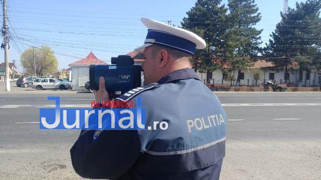 actiune politie radar 2 - FOTO: Toate radarele au fost scoase pe şoselele din județ