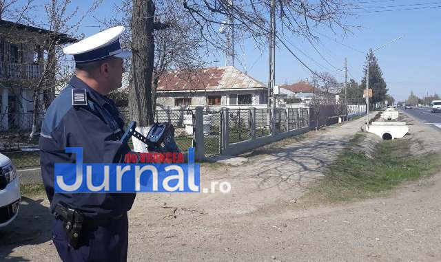 actiune politie radar 3 - FOTO: Toate radarele au fost scoase pe şoselele din județ