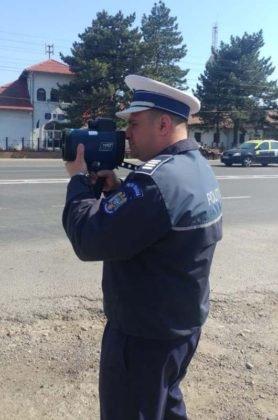 actiune politie radar 4 278x420 - FOTO: Toate radarele au fost scoase pe şoselele din județ