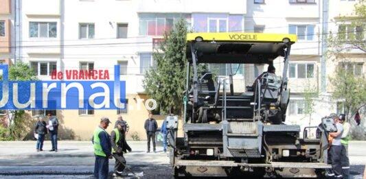 asfaltare srtada gh magheru focsani4 533x261 - Jurnal de Vrancea
