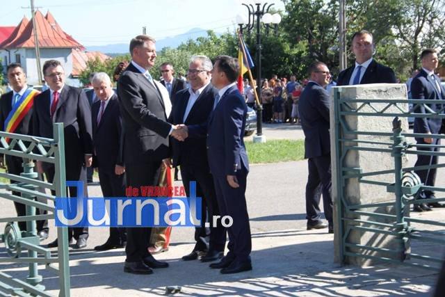 iohannis la marasti 3 - Ion Ștefan: Susțin cu toată puterea Referendumul pentru justiție organizat de președintele Iohannis(FOTO)