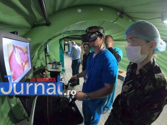 medici spitalul militar instruire poligon cincu1 560x420 - FOTO: Medici și asistenți de la Spitalul Militar Focșani s-au instruit în poligonul de la Cincu