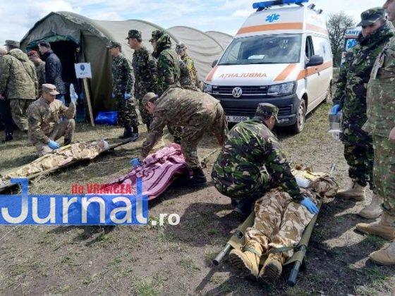medici spitalul militar instruire poligon cincu4 560x420 - FOTO: Medici și asistenți de la Spitalul Militar Focșani s-au instruit în poligonul de la Cincu