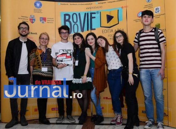 colegiul unirea castigator festival boovie5 573x420 - FOTO: Colegiul Naţional Unirea, marele câştigător al Festivalului Boovie