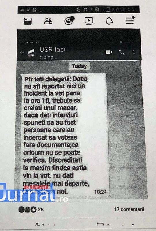 mesaj usr - VIDEO: PSD acuză Alianța USR-PLUS că vrea să fraudeze alegerile din 26 mai