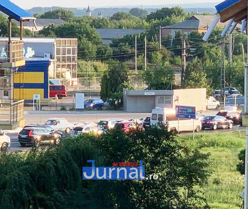 aglomeratie centura - ULTIMĂ ORĂ: Autoturism răsturnat la ieșirea din Focșani
