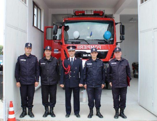statia de pompieri vulturu 4 544x420 - FOTO: Triplu motiv de sărbătoare pentru pompierii vrânceni
