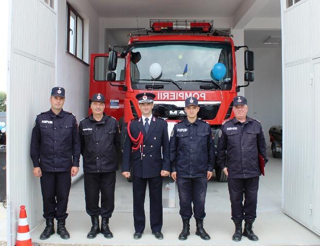statia de pompieri vulturu 4 - FOTO: Triplu motiv de sărbătoare pentru pompierii vrânceni
