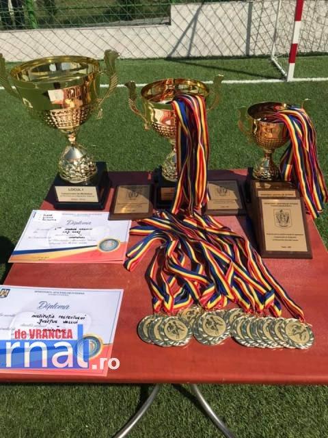 campionatului de minifotbal al MAI finala2 - FOTO: I.P.J. Vrancea, în finala Campionatului de Minifotbal al Ministerului Afacerilor Interne – ediția 2019