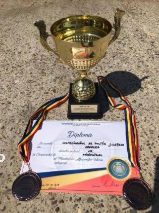 campionatului de minifotbal al MAI finala3 315x420 - FOTO: I.P.J. Vrancea, în finala Campionatului de Minifotbal al Ministerului Afacerilor Interne – ediția 2019