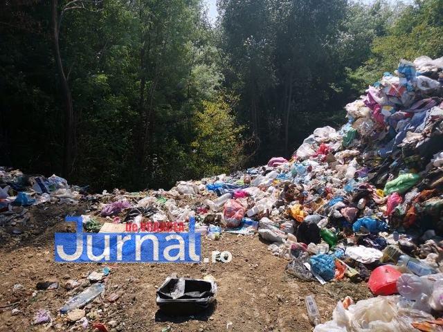 gunoi panciu 2 - FOTO-VIDEO: Primăria Panciu recidivează și sufocă orașul cu deșeuri aruncate ilegal