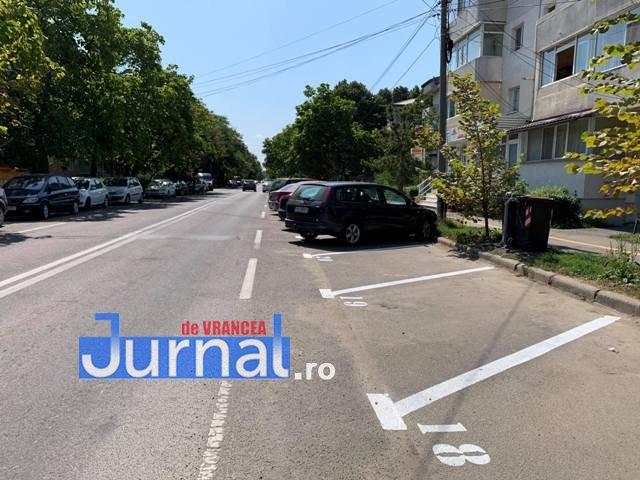 locuri parcare strada longinescu1 - FOTO: Cum au furat angajații Parking startul amenajării locurilor de parcare de la Gară