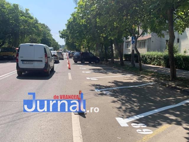 locuri parcare strada longinescu2 - FOTO: Cum au furat angajații Parking startul amenajării locurilor de parcare de la Gară