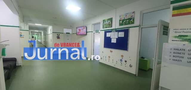 sectia pediatrie modernizata spitalul judetean1 - FOTO: Pediatria Spitalului Județean Focșani a fost modernizată