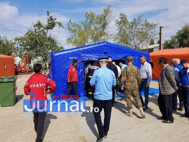 exercitiu isu vrancea suraia6 - FOTO: Simulare de inundații la Suraia