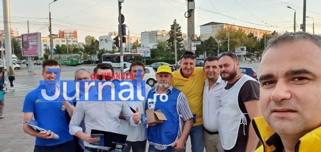 pnl iohannis alegeri prezidentiale6 - GALERIE FOTO: Motivele pentru care românii semnează în număr mare pentru candidatura lui Iohannis