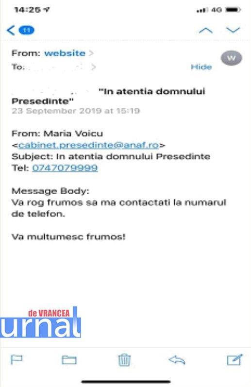 anaf mail fals - Mare atenție! ANAF reclamă transmiterea de email-uri false în numele său
