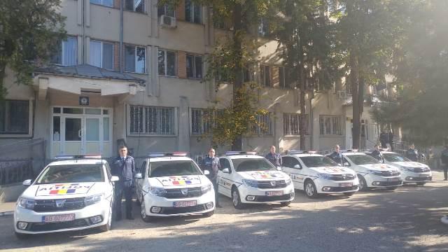 autospeciale noi ipj vrancea2 - FOTO: 7 autospeciale de Poliție au intrat în dotarea IPJ Vrancea