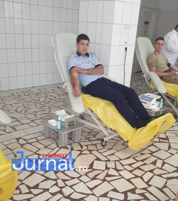 ipj vrancea donare de sange4 - FOTO: Peste 75 de polițiști au donat sânge în cadrul unei campanii care a durat 2 săptămâni