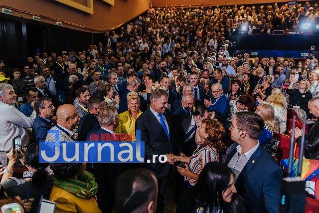 klaus iohannis cluj prezidentiale3 - FOTO: Klaus Iohannis a făcut tot ceea ce putea să facă un președinte pentru a opri atacurile PSD împotriva statului român