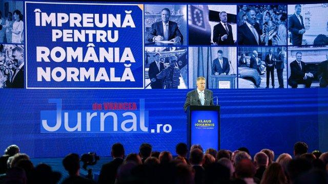 Lansare Program Prezidential 2019  - FOTO: Principalele motive pentru a vota Klaus Iohannis - Președinte