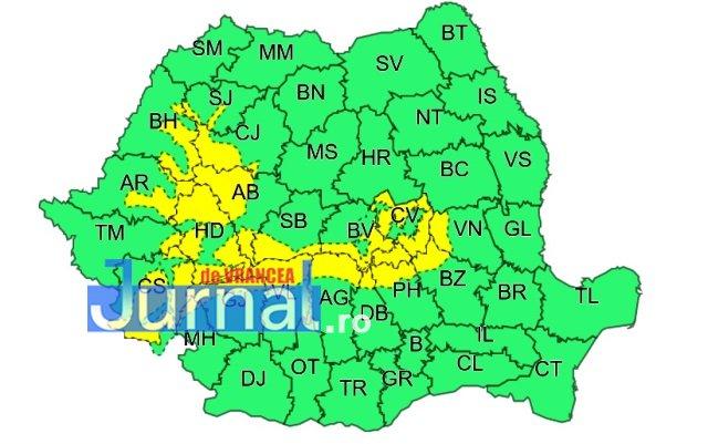 cod galben munte - METEO: Atenționare de vânt și ploi | Cod galben de ninsori în zona de munte a județului