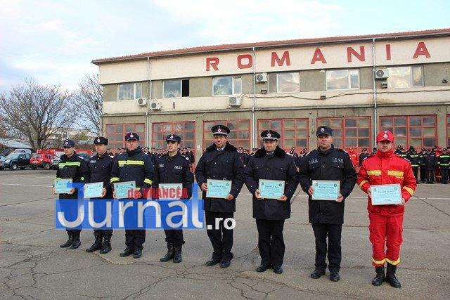 jandarmeria vrancea angajari jandarmi3 - FOTO: Meritele pompierilor vrânceni apreciate  de Ziua Naţională a României
