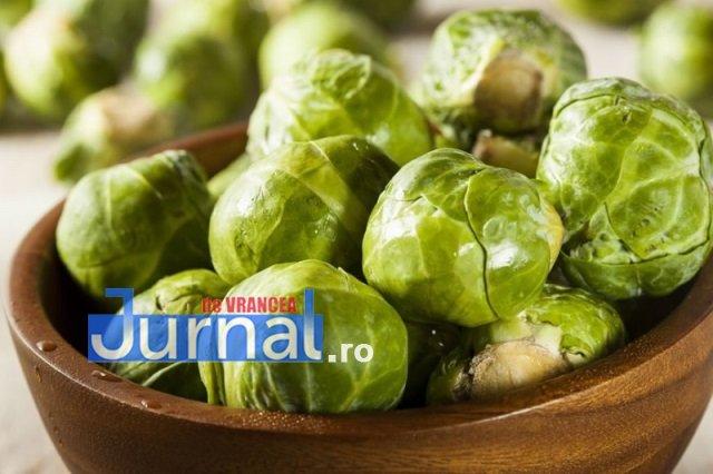 varza de bruxelles - Alimente bune pentru sistemul imunitar | Ce să mănânci pentru a ține departe virozele!